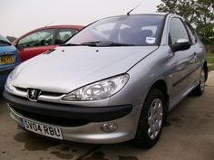 2004 PEUGEOT 206 LX SILVER 1.1 58000 MILES