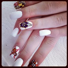 My nails, #Baltimore