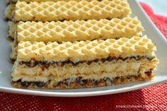 Wafel kokosowy Sweet Recipes, Cake Recipes, Polish Cookies, Polish Recipes, Pumpkin Cheesecake, Food Cakes, Homemade Cakes, Food And Drink, Favorite Recipes