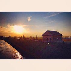 Tramonto a Bondeno - Instagram by ely_86