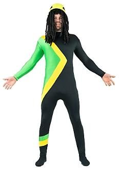 Coll Runnings Jamaican Bobseligh Team Costume 90s Fancy Dress 90s Party Costume Fancy Dress