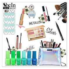 """""""SheIn"""" by beautifulsunshine1 ❤ liked on Polyvore featuring Lipstick Queen, Casetify, Chanel, Marc Jacobs, Christian Dior, tarte and NARS Cosmetics"""