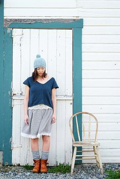 Ravelry: Blanche pattern by Veronika Jobe