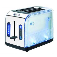 Blue Ice Illuminated 2 Slice Toaster - Toasters - Products