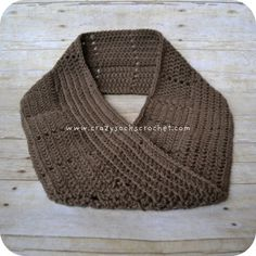 Kerry Cowl    The Kerry cowl is a long moebius scarf.  (Moebius means it has a half-twist in it.)  I hand-crochet these using soft acrylic yarn.  These cowls are soft, durable, warm, comfortable, and washable.  You can wear it long, or doubled up around your neck.    SIZES:  Child, Adul...