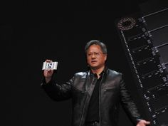 Nvidia CEO Jen-Hsun Huang unveiled an ambitious new processor for artificial intelligence applications, the Tesla Unified Communications, Step Up, Rise Above, Artificial Intelligence, Machine Learning, The Past, Chips, Social Media, Moriarty