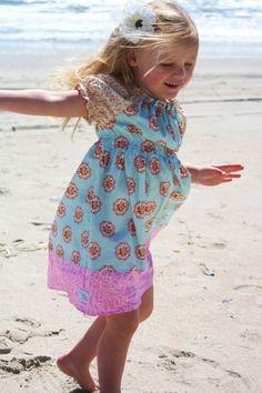 Claire peasant dress..........Momi boutique