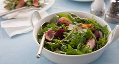Say no to sad desk lunches! This gourmet salad comes together in 20 minutes.