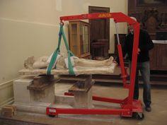 2008 Le Christ au tombeau de Claus de Werve (début du XVe s.) :  sa restauration et son retour à la cathédrale de Langres