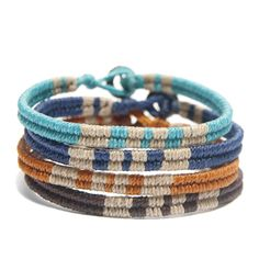 Our Bracelets for Change are the perfect friendship bracelet to give out this International Friendship Day!
