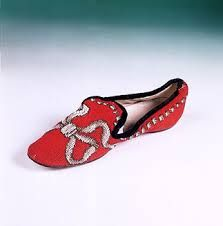 Image result for victorian needlepoint  slippers