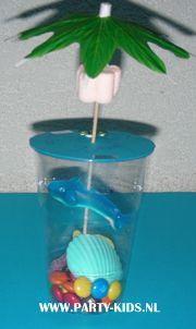 traktaties - Dolfijn aquarium (2) zelf maken
