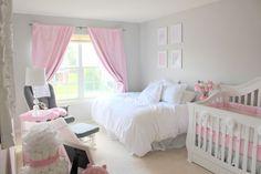 full bed in nursery