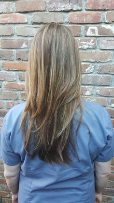 Layers highlights lowlights #HairByBritney