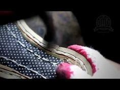 Diamond Walker bespoke shoes - Handsewn Welting process - YouTube