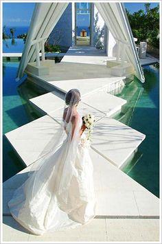 Tirtha Uluwatu chapel ~ Bali wedding venue....