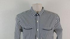 ENGLISH LAUNDRY BLAQUE LABEL Men Casual Shirt S Black White Striped Button Front #EnglishLaundry #ButtonFront #ebay #EnglishLaundry #ButtonFront Casual Shirts For Men, Casual Button Down Shirts, Men Casual, Black White Stripes, Black And White, Laundry, Label, English, Shirt Dress