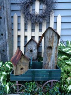 Sweet Rustic Garden Display~