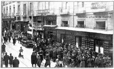 Calle Carretas - Conflicto Correos y Telégrafos 1918.jpg
