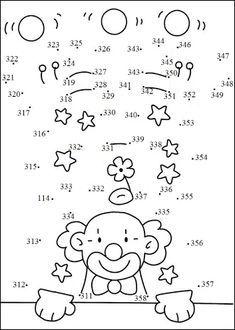 Unir Puntos Con Numeros Dibujos De Puntos Rompecabezas Para Imprimir Taller De Matematicas