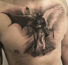 - only best tattoos - Wing Tattoo Men, Wing Tattoo Designs, Half Sleeve Tattoos Designs, Angel Tattoo Designs, Tattoo Design Drawings, Best Sleeve Tattoos, Tattoo Designs For Men, Back Tattoo Men, Tatto Man