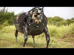 AlphaDog ls3 military robot : Video - U.S Army unveiled Robotic dog | Everyday Devotional