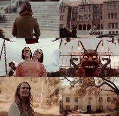 AHS: Asylum, Freak Show and Roanoke.