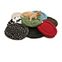 Oval Cat Bed Price: $30.00 http://www.nipandbones.com/nature-nap-oval-cat-beds.html