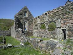 Ruined nunnery, Isle of Iona, Scotland