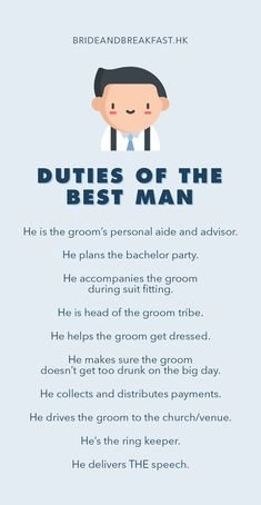 the best man duties checklist you need to ace the job jake s best