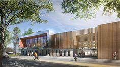 Construction d'un complexe sportif à Valenton