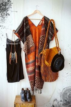 American boho bohemian style, love the outfits as a whole: