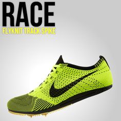 Race Flyknit Track Spike these are so cool