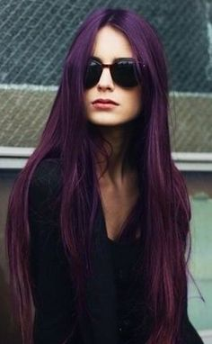 Hair Color to Try: Marvelous Purple Hair for Chic Fashionistas - Besthairbuy
