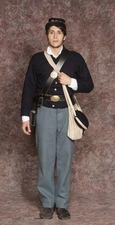 $15.00 Civil War Pants blue or gray wool