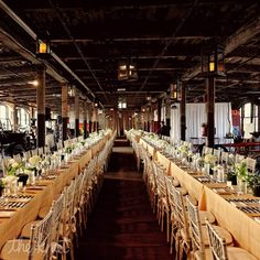 Rustic Feasting Tables