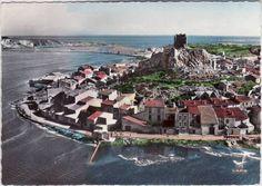 Gruissan en 1962, carte postale de Daniel