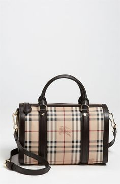 Burberry  Haymarket Check  Satchel available at  Nordstrom Burberry Purse f75e94cd71a3d