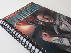 VHS Notebook 4.00 X 7.50 90 pages Cyberzone Movie by LeeEmporium