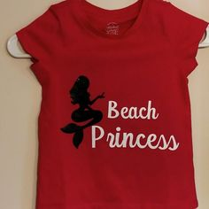 Mermaid Beach Princess Shirt  for Kids by baloveDesigns on Etsy