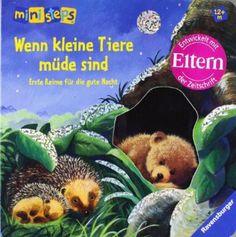 ministeps® Bücher: Wenn kleine Tiere müde sind: Erste Reime für die gute Nacht. Ab 12 Monaten: Amazon.de: Sabine Cuno, Ana Weller: Bücher