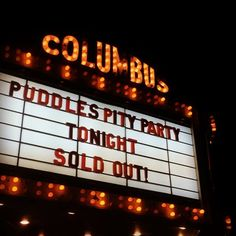 Puddles Pity Party performed on Thursday at Columbus Theatre
