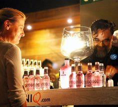 Momentos de #SoyGintonic en el networking gin corner