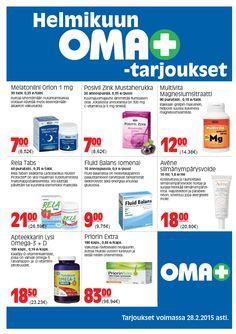 Helmikuun Oma PLUS -tarjoukset www.omaplus.fi