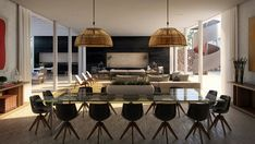 Elegant Dining Rooms For Your Contemporary Home For vivid dining rooms, you would probably be looking for exclusive furniture that will take out your breath and make you enjoy your dining space. #comtemporarydesign #livingroom #diningarea #diningroom #exclusivedesign