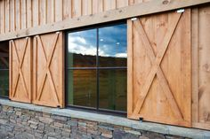 Wyoming Horse Barn traditional garage and shed
