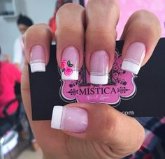 manicura digital arts m-filter - Digital Art French Manicure Nails, French Tip Nails, Manicure And Pedicure, Manicures, Finger, Nail Tattoo, Luxury Nails, Cute Nail Art, Gel Nail Designs