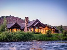 Elk Creek Ranch - Riverfront Home | Live Water Properties | Ranches for Sale in Wyoming, Montana & Colorado