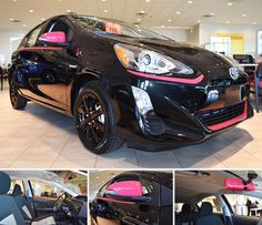 This special edition 2016 Toyota Prius C Persona Series is only one of 1,500 produced, so we're tickled pink to have one in our Showroom.