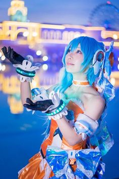 around the cosplay in the world [AMPLE!] Simple & Stylish New Cosplay Photo Sharing Site! Vocaloid Cosplay, Kawaii Cosplay, Anime Cosplay, Best Cosplay, Awesome Cosplay, Sci Fi Fantasy, Cool Costumes, Cosplay Girls, Asian Fashion